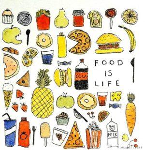 Food is life @pihlamatleena