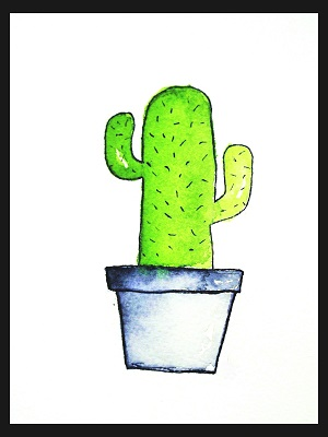 Kaktus @pihlamatleena