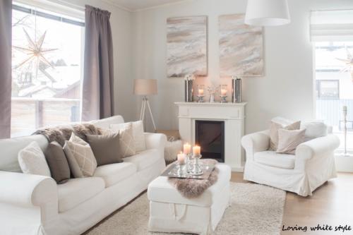 Loving White style- bloggarin kotoa